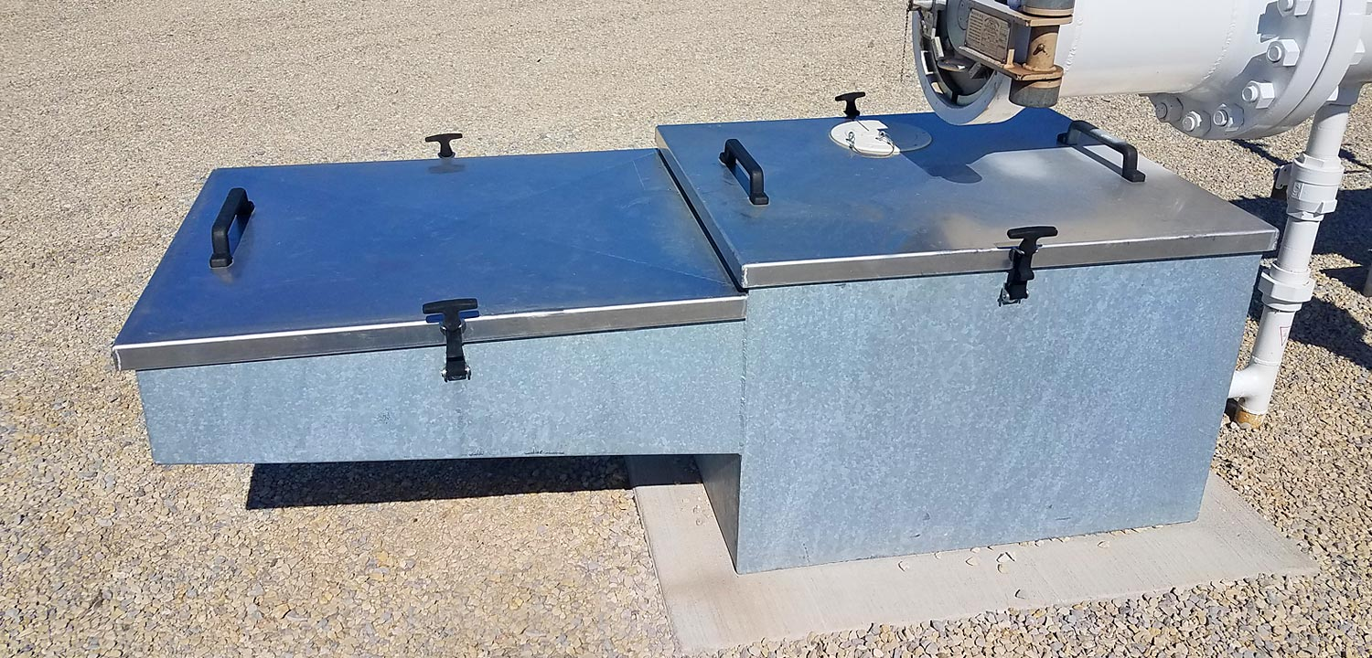 Galvanized Drain Box
